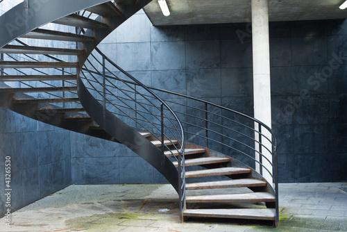 Papiers peints Escalier escalier en colimaçon