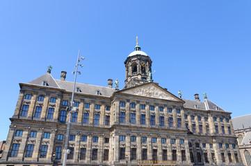 Koninklijk Paleis in Amsterdam, Netherlands