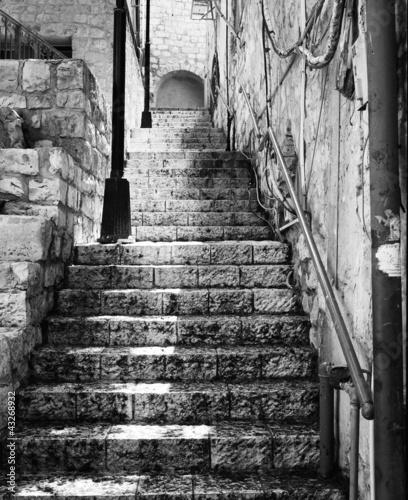 Stairway in Zefat - 43268932