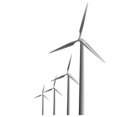 Windkraftanlage Windrad Ökologisch