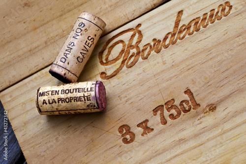 Bouchon, vin, cave, œnologie, Bordeaux, caisse, chai - 43272342