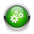 gear web green button
