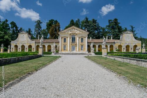 Villa Barbaro, Maser, Treviso, Veneto, Italy, Europe