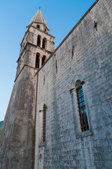 Small church in Croatian village