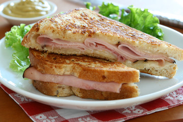 Ham and Cheese Sandwich