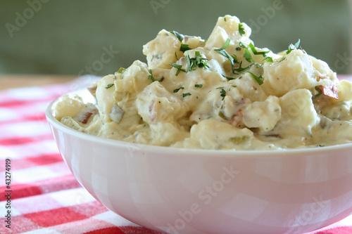 Fotobehang Salade Potato Salad