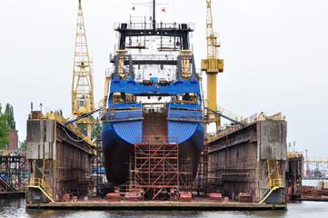Stocznia remontowa - statek