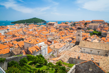 Roofs of Dubrovnik's Old Town