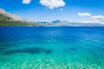 Beautiful Croatian seascape