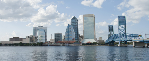 Jacksonville Florida Downtown waterfront