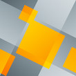Intersecting lines and orange squares. Abstract seamless backgro