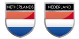 Netherlands flag emblem