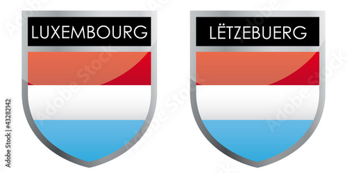 Luxembourg flag emblem
