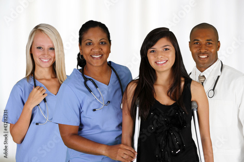 Doctors and Nurse