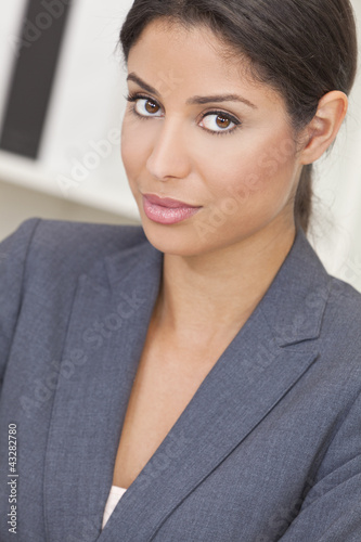 Hispanic Latina Woman or Businesswoman