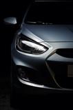 Fototapety Front car lights
