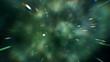 Traveling through stars and nebulas at warp speed! Seamless loop