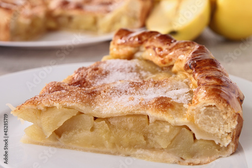 gourmet apple pie