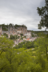 Rocamadour village in France.