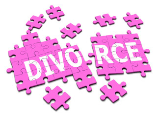 3d Jigsaw puzzle divorce