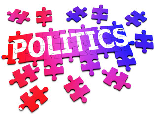 3d Jigsaw puzzle politics