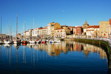 Marina of Gijon, Asturias (Spain)