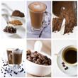 Kawa - kolaż