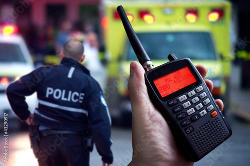 Police scanner - 43290917