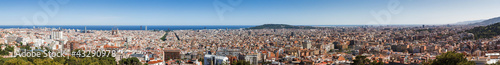 Entire Barcelona Panorama