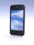 cloud computing on mobile smartphone.