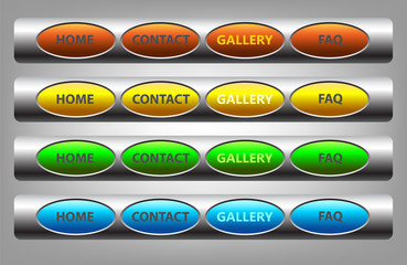 buttons for web