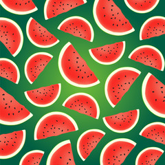 Background from watermelon