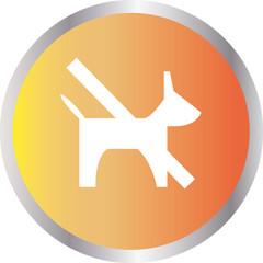 icon banning dog