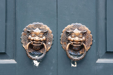 Chinese traditional door puller