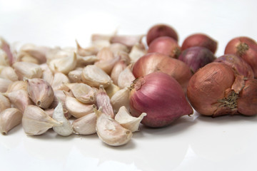 Garlic with Onions