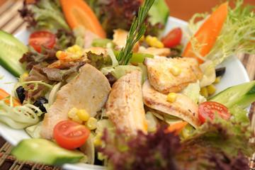 Yemek ,yiyecek tabakları,salad