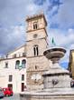 Italy. Lazio. Piazza del Popolo di Cittaducale