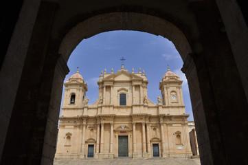 Italy. Italia. Sicilia cattedrale di Noto