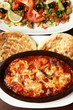 karides tereyağı domates güveç ve salata