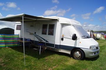 Motor Home Camping