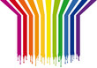 colorful stripes with drops, vector