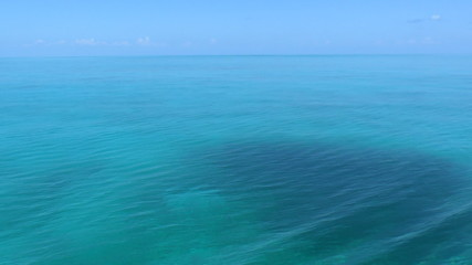 Clear water of caribbean sea near Cayo Largo, Cuba