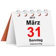 Kalender - 31.03.2013 - Ostersonntag