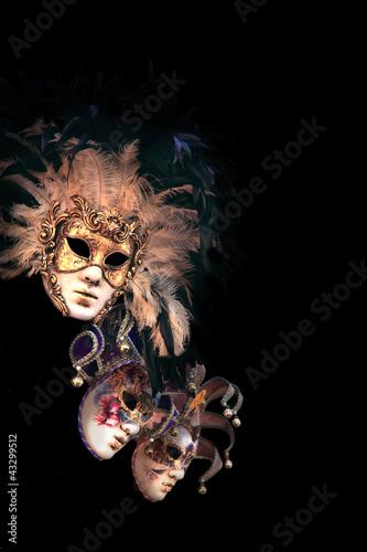 Venetian masks - 43299512