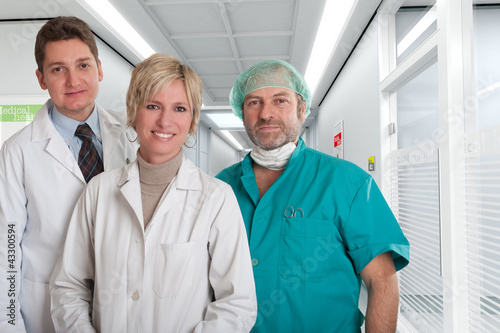 Reassuring medical team