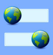 Planet Earth banners
