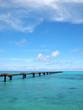 Quadro きれいな海と誘導路