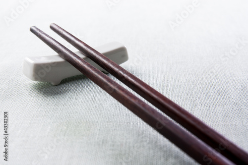 dark wood chopsticks