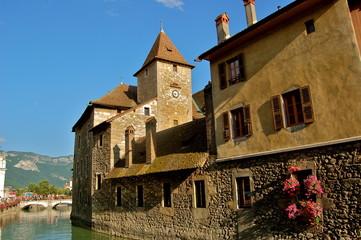 Palais de l'isle et ses canaux, Annecy