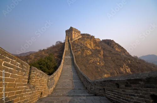 Foto op Aluminium Chinese Muur Great Wall of China
